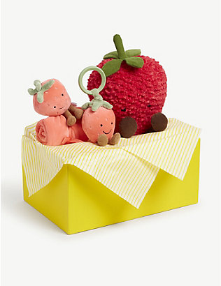 SELFRIDGES: Strawberry baby hamper gift set