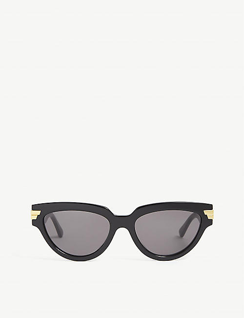 BOTTEGA VENETA: BV1035S acetate cat's eye sunglasses