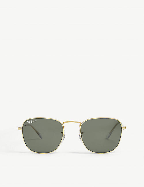 RAY-BAN: RB3857 Frank Legend metal sunglasses