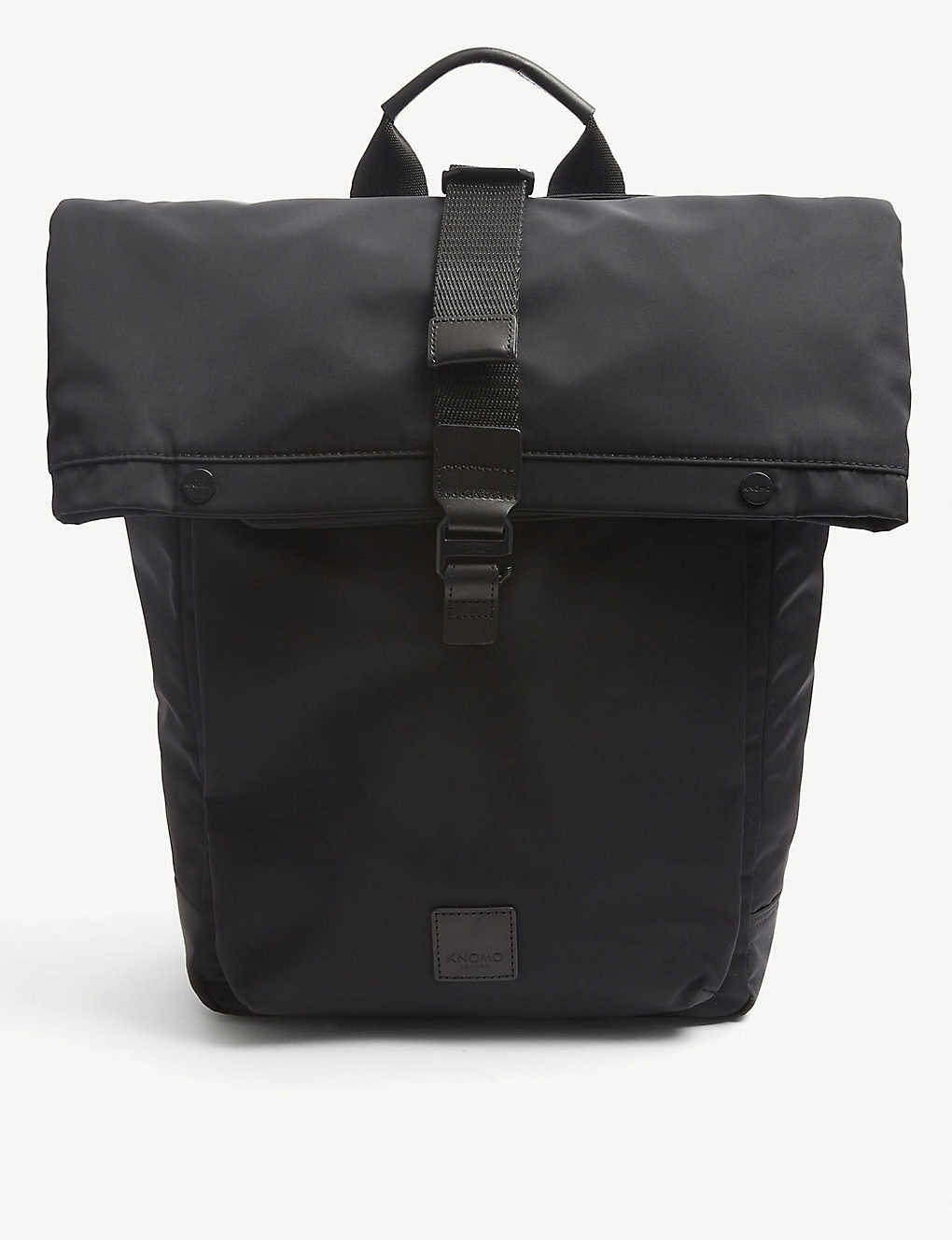 KNOMO: Fulham Novello roll-top nylon backpack