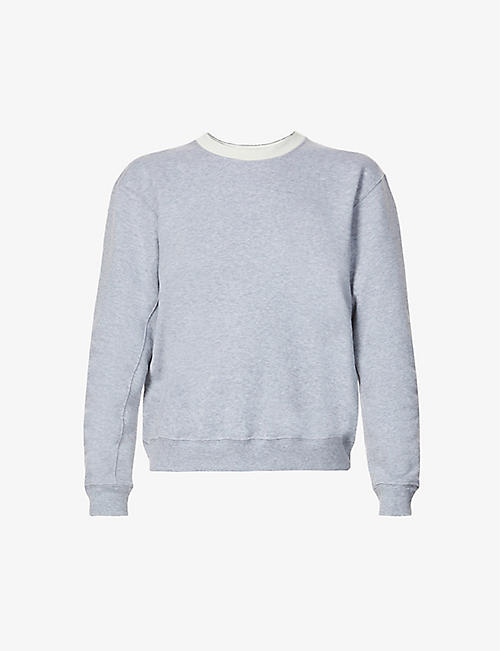 VAARA: May organic cotton-jersey sweatshirt