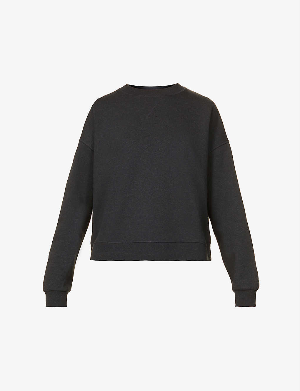 GANNI: Oslo recycled cotton and polyester-blend sweatshirt