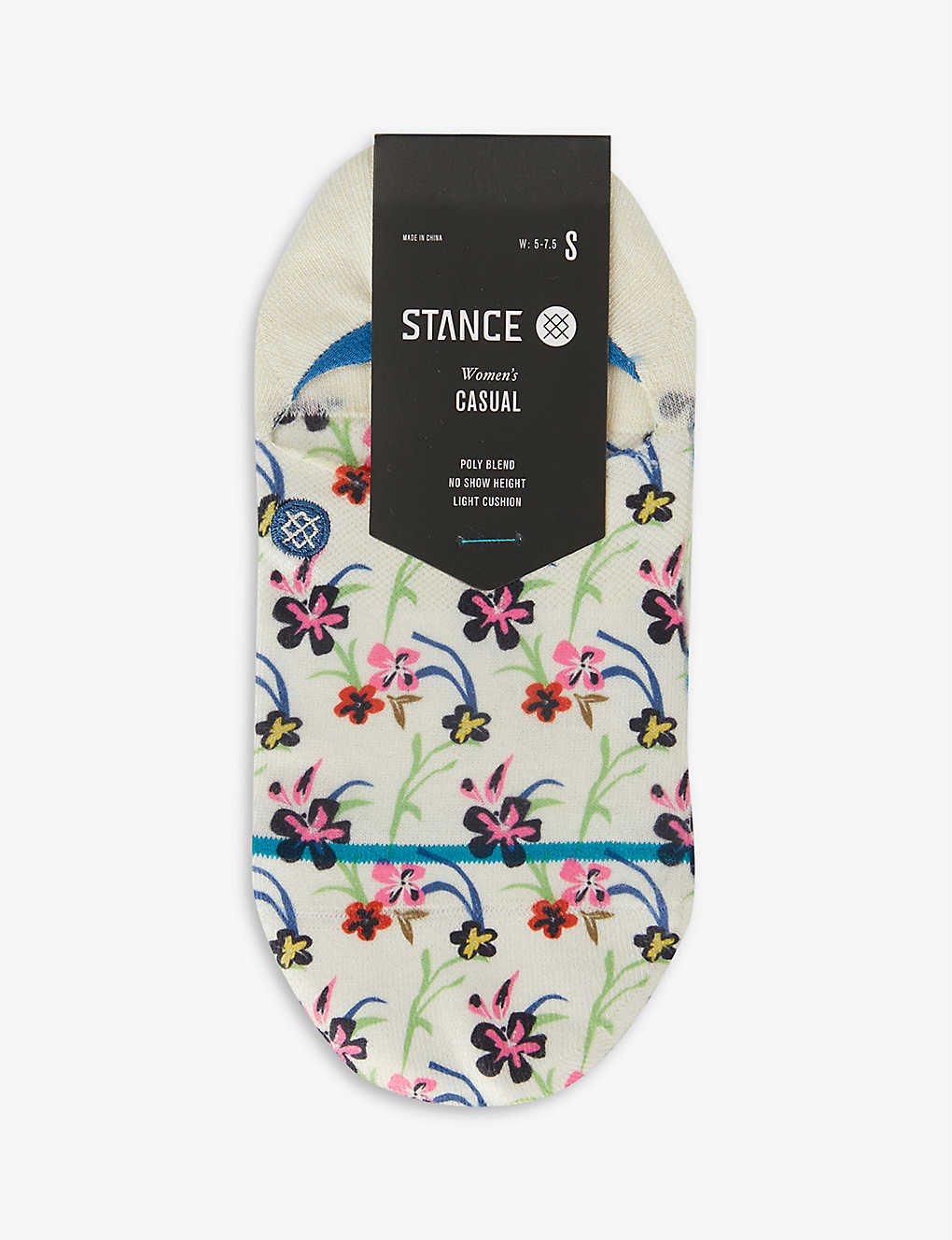 STANCE: Garden Variety invisible knitted socks