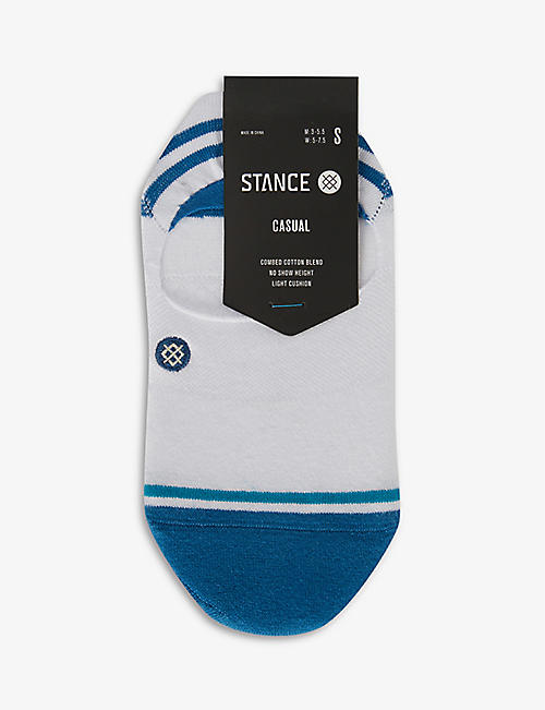 STANCE: Stance Gamut 2 No Show cotton-blend socks