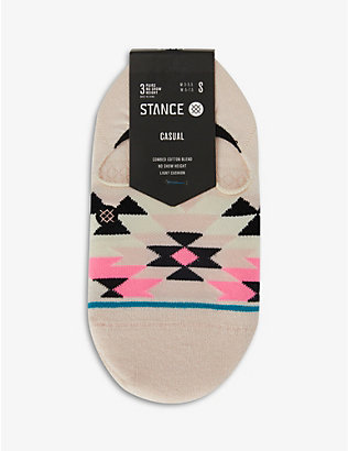 STANCE: Ryley No Show knitted socks pack of three