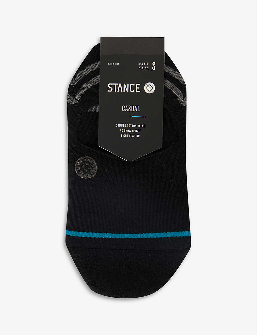STANCE: Gamut 2 No Show cotton-blend socks