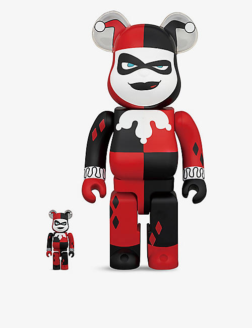 BE@RBRICK: Harley Quinn 400% and 100% figures