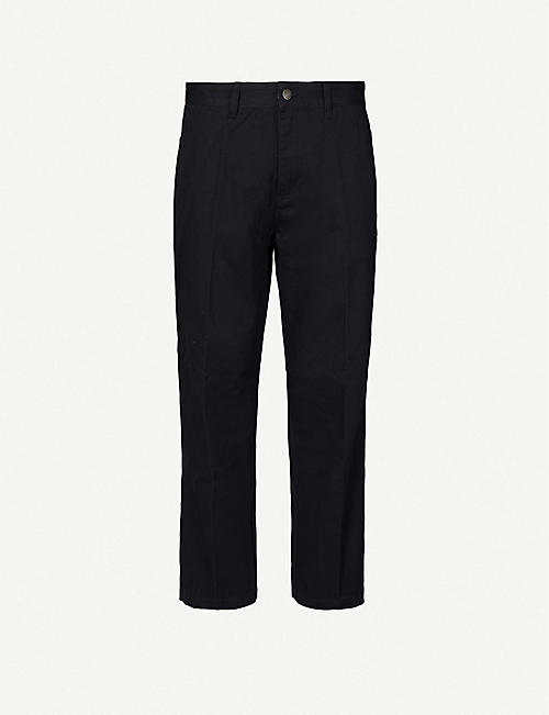 OBEY: Hardwork Carpenter slim cotton-twill trousers
