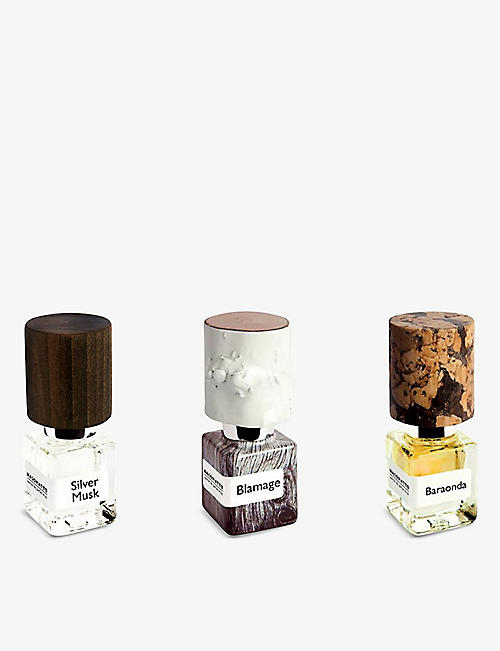 NASOMATTO: TTO perfume oil set 3x4ml