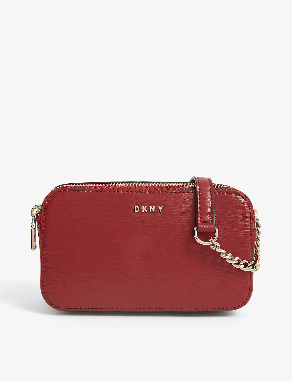 DKNY: Bryant Sutton double-zip coated canvas camera bag