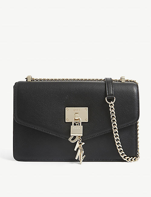 DKNY: Elissa small leather shoulder bag