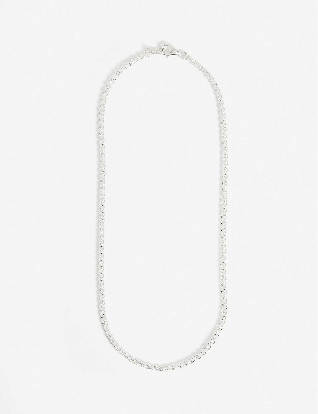 HATTON LABS: Classic Rope sterling silver necklace