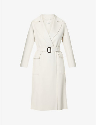 S MAX MARA: Zante double-breasted wool coat