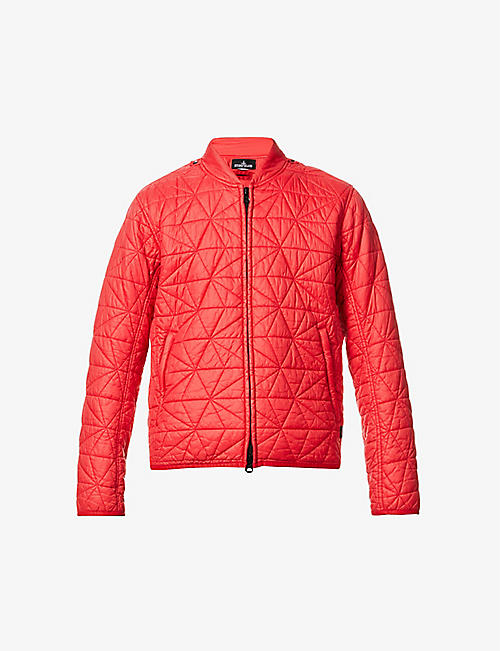 STONE ISLAND SHADOW PROJECT: Quilted shell jacket