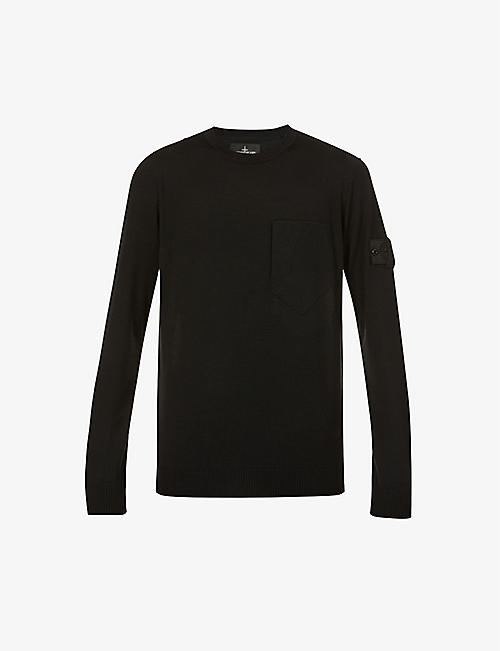 STONE ISLAND SHADOW PROJECT: Shadow Project crewneck cotton-knit jumper