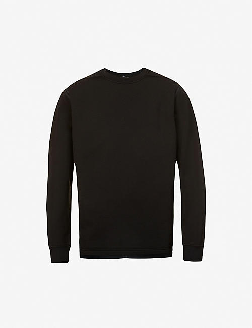 STONE ISLAND SHADOW PROJECT: Shadow Project piped jersey sweatshirt
