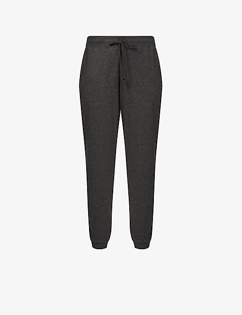 SKIN: Noa high-rise stretch-cotton jogging bottoms
