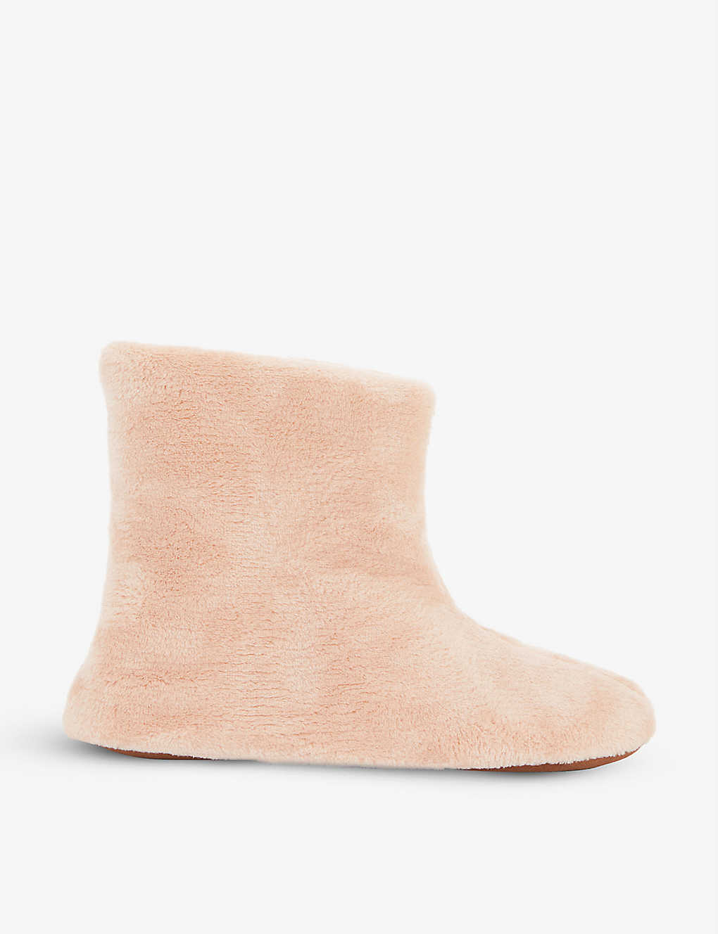 SKIN: Plush boot slippers