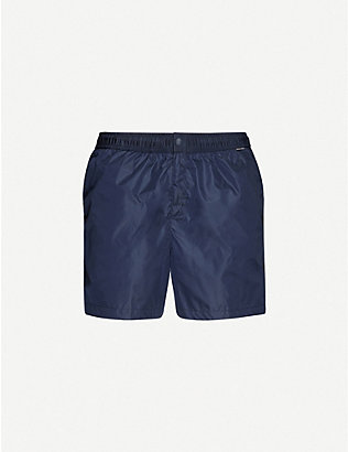 RALPH LAUREN PURPLE LABEL: Plain swim shorts