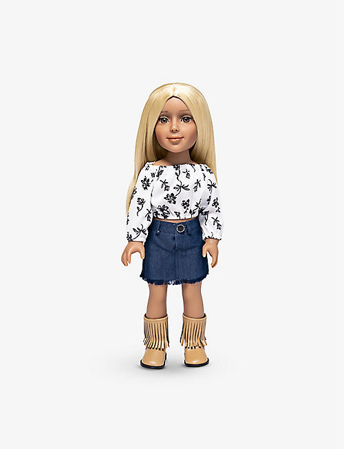 I'M A GIRLY: Zoe fashion doll 48cm