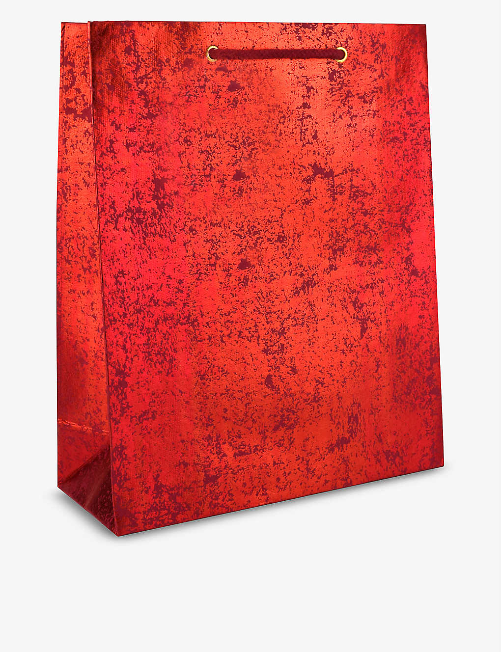 VIVID WRAP: Red Crush large recycled-cotton paper gift bag