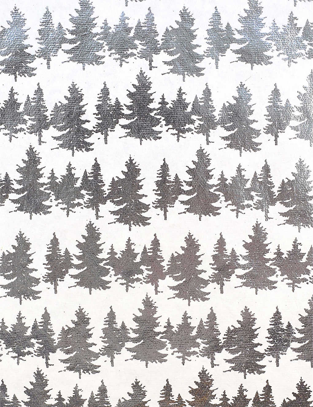 VIVID WRAP: Pine Forest recycled cotton paper gift wrap sheet 70cm x 50cm