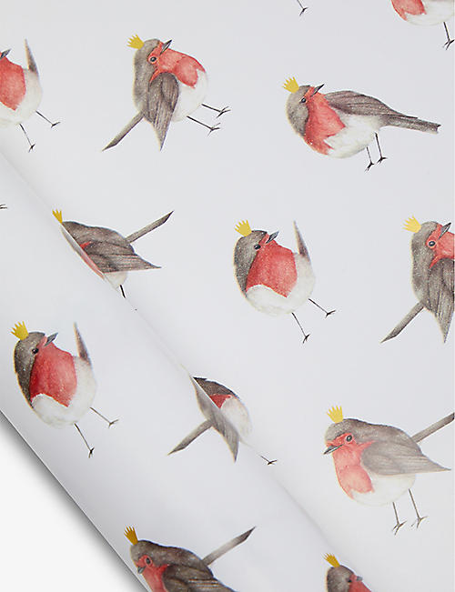THE ART FILE: Robin-print wrapping paper 3m