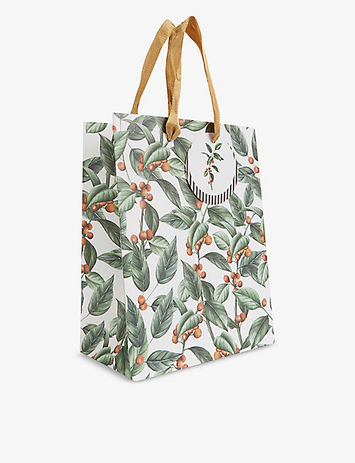 THE ART FILE: Winter Botanics medium gift bag