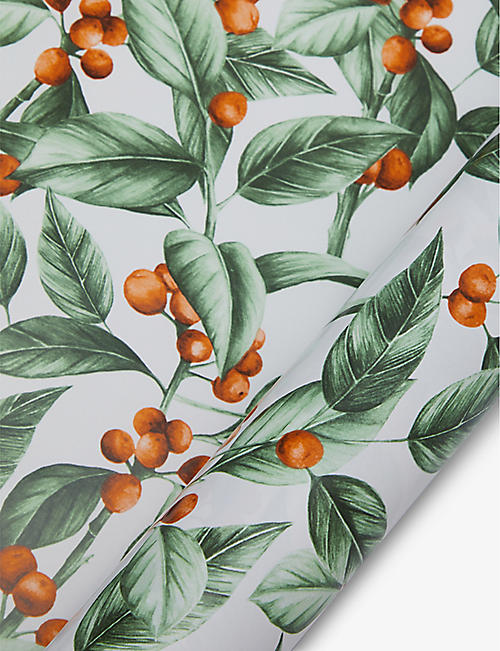THE ART FILE: Winter Botanics wrapping paper 3m