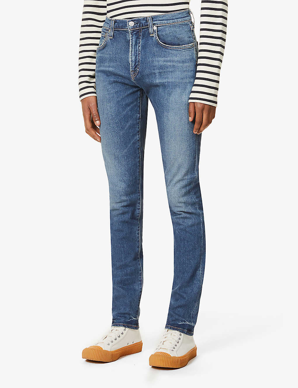 CITIZENS OF HUMANITY: London mid-rise stretch-denim jeans