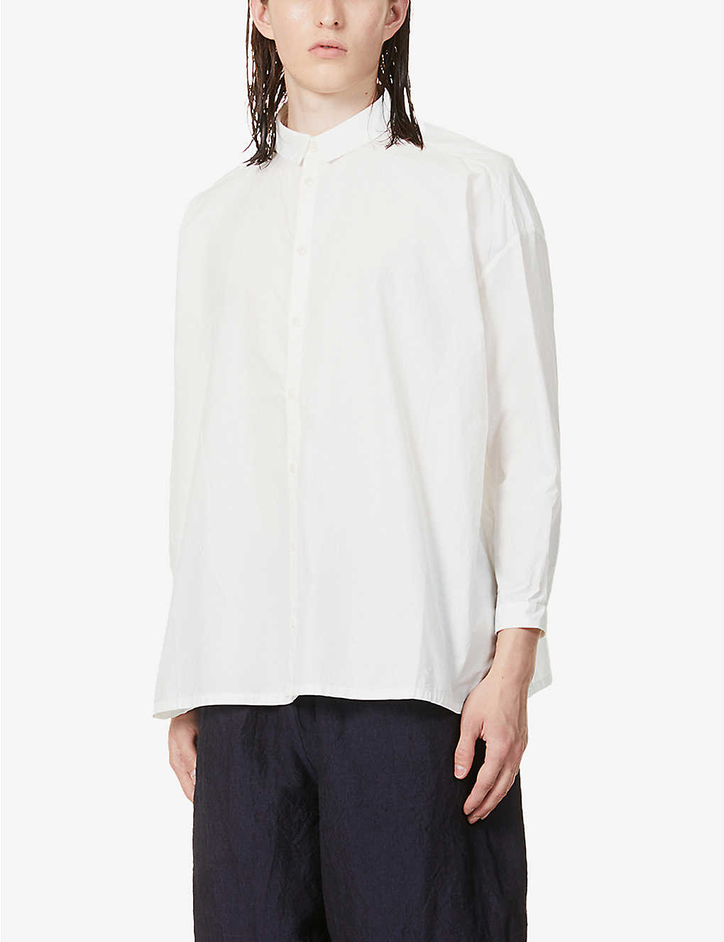 TOOGOOD: Draughtsman relaxed-fit cotton shirt