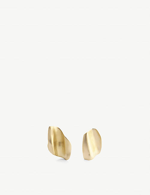 COMPLETEDWORKS: Ticket for NYLCU Fundraiser 18ct gold-plated sterling silver earrings