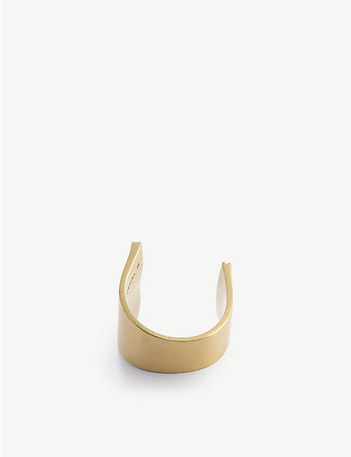 COMPLETEDWORKS: Career Break 14ct gold-plated sterling silver ring