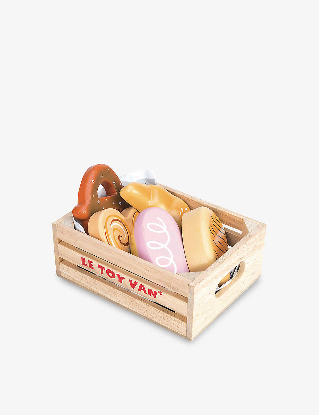 LE TOY VAN: Bakers Basket wooden toy set