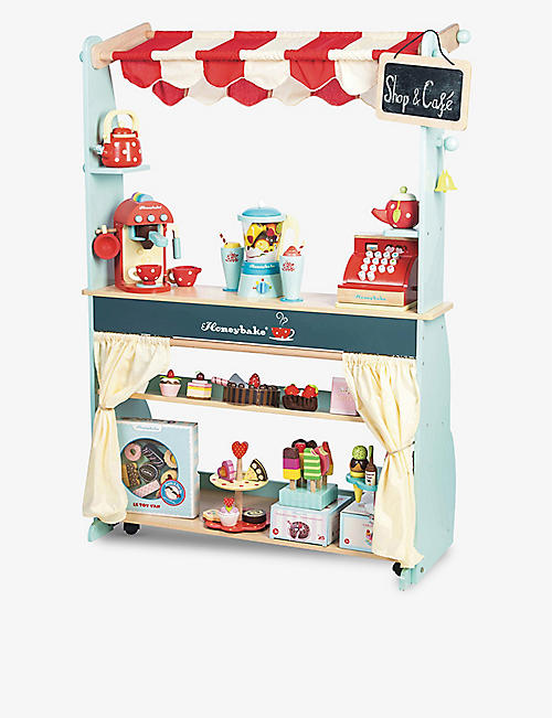 LE TOY VAN: Honeybake shop and cafe wooden set