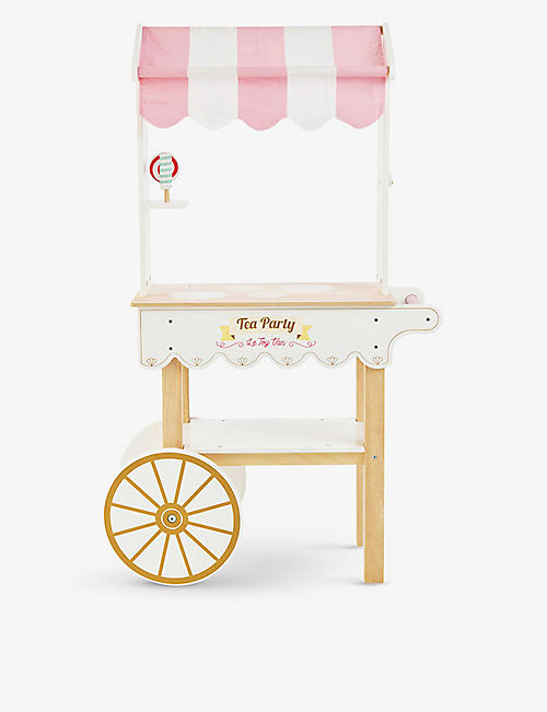 LE TOY VAN: Tea & Treats wooden trolley set