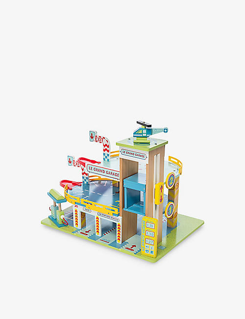 LE TOY VAN: Le Grand Garage wooden set