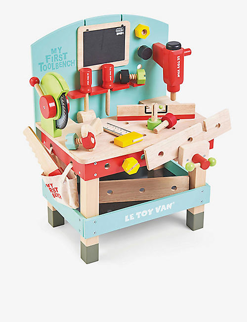 LE TOY VAN: My First Tool Bench wooden set
