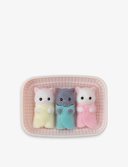 SYLVANIAN FAMILIES: Persian Cat Triplets play set
