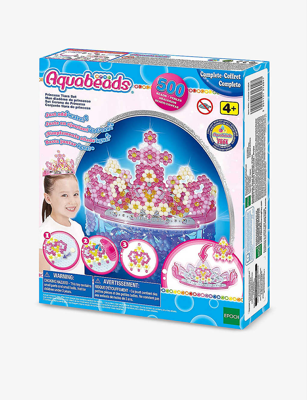 AQUABEADS: 3D Princess Tiara set