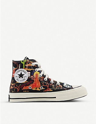 CONVERSE: All Star Hi 70 cotton-canvas high-top trainers