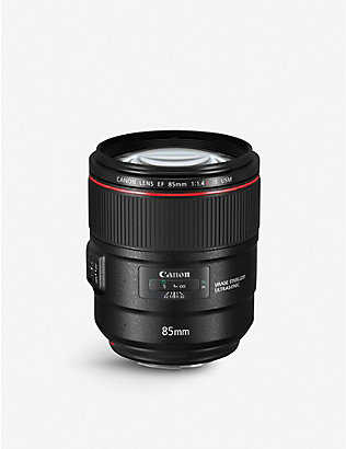 CANON: EF 85MM F/1.4L IS USM Telephoto Lens