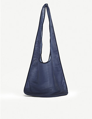 THE ROW: Bindle semi-sheer mesh hobo bag