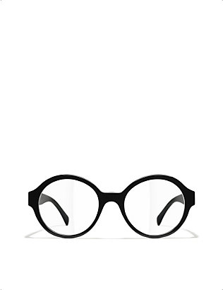 CHANEL: CH3388 round-frame optical glasses