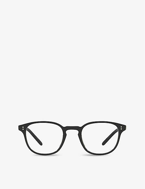 OLIVER PEOPLES: OV5219 Fairmont square-frame acetate optical eyeglasses
