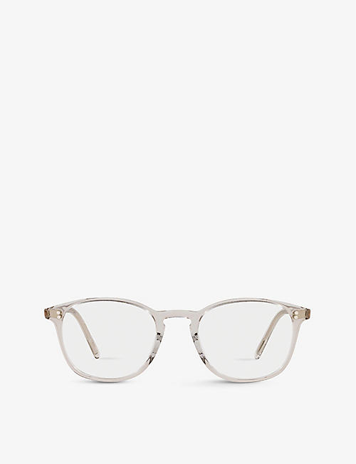 OLIVER PEOPLES: Finley Vintage square-frame acetate glasses