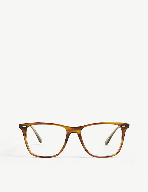 OLIVER PEOPLES: OV5437U Ollis square-frame acetate glasses