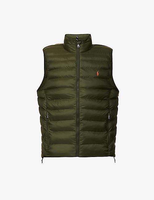 POLO RALPH LAUREN: Quilted-down shell gilet