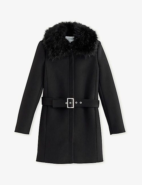 CLAUDIE PIERLOT: Gilles wool and cashmere-blend coat