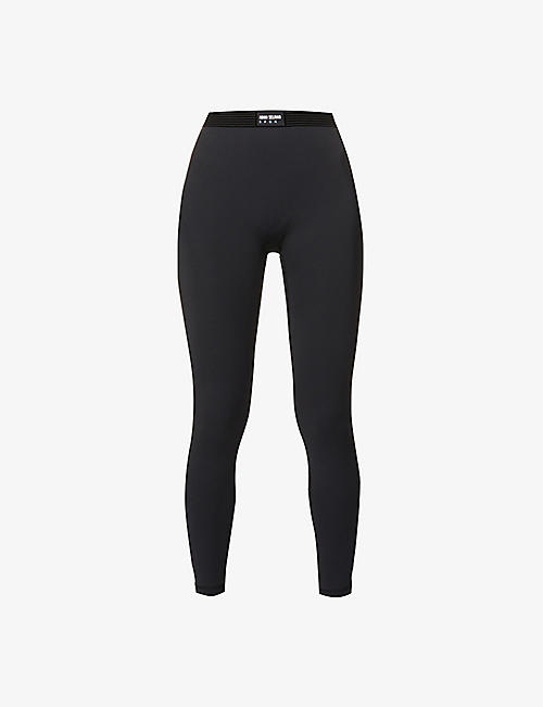 ADAM SELMAN SPORT: Bonded Active stretch-woven leggings